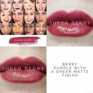 Lipsense Sheer Berry